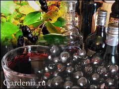 Ликер из черноплодной рябины в домашних условиях рецепт