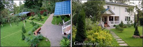 Как правильно расставить и посадить деревья в саду